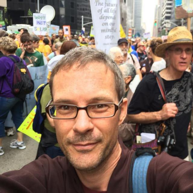 Me at Climate March